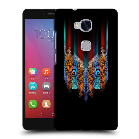 Snoogg Abstract Mask Designer Protective Back Case Cover For Huawei Honor 5X
