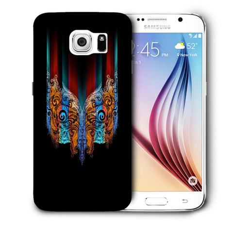 Snoogg Abstract Mask Designer Protective Back Case Cover For Samsung Galaxy S6