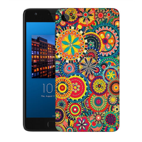 Snoogg Abstract Multicolor Floral Designer Protective Back Case Cover For Lenovo Zuk Z2
