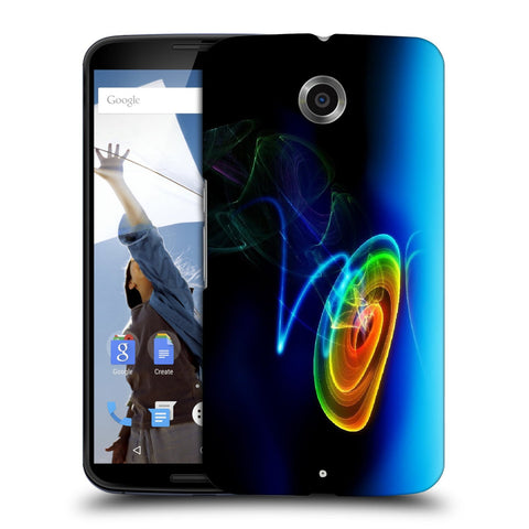 Snoogg Abstract Cyclone Designer Protective Back Case Cover For Motorola Nexus 6