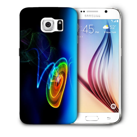 Snoogg Abstract Cyclone Designer Protective Back Case Cover For Samsung Galaxy S6