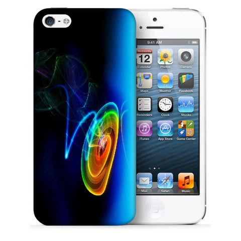 Snoogg Abstract Cyclone Designer Protective Back Case Cover For Apple Iphone SE
