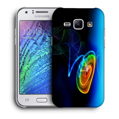 Snoogg Abstract Cyclone Designer Protective Back Case Cover For Samsung Galaxy J1