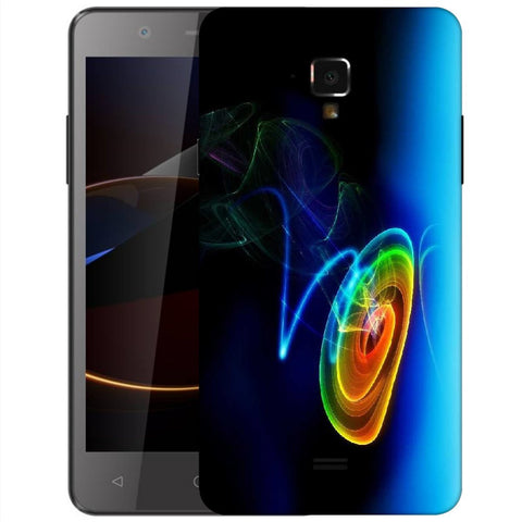 Snoogg Abstract Cyclone Designer Protective Back Case Cover For Swipe Elite 2 Plus