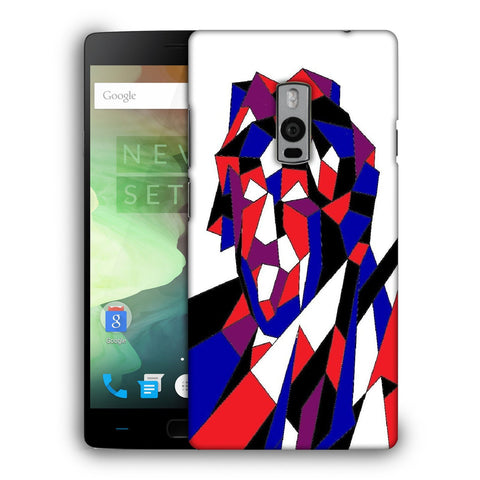 Snoogg Abstract Multicolor Designer Protective Back Case Cover For OnePlus Two