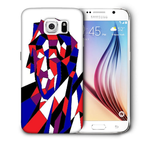 Snoogg Abstract Multicolor Designer Protective Back Case Cover For Samsung Galaxy S6