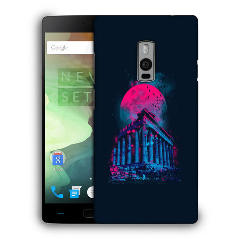 Snoogg Abstract Building Designer Protective Back Case Cover For OnePlus Two