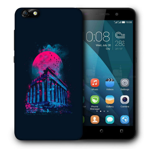 Snoogg Abstract Building Designer Protective Back Case Cover For Huawei Honor 4X