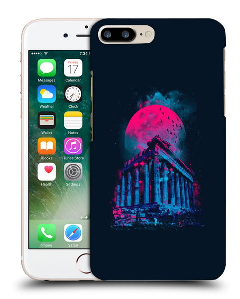 Snoogg Abstract Building Designer Protective Back Case Cover For Apple Iphone 7 Plus