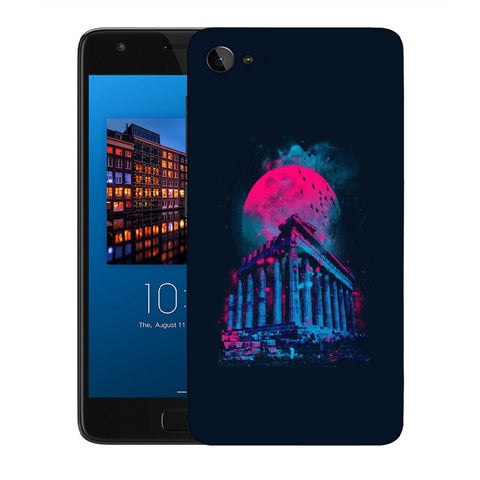 Snoogg Abstract Building Designer Protective Back Case Cover For Lenovo Zuk Z2