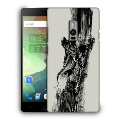 Snoogg Abstract Samurai Designer Protective Back Case Cover For OnePlus Two