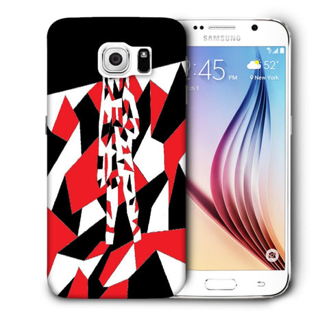 Snoogg Abstract Man Designer Protective Back Case Cover For Samsung Galaxy S6