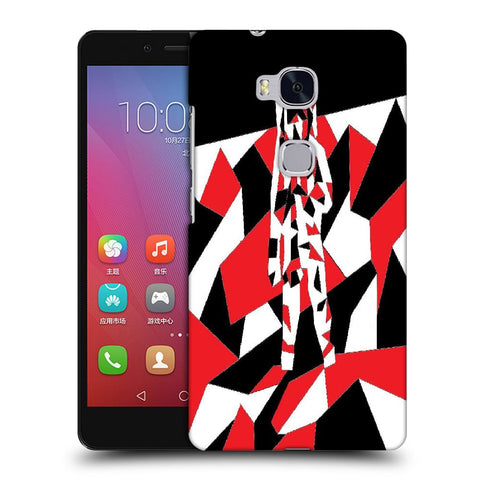 Snoogg Abstract Man Designer Protective Back Case Cover For Huawei Honor 5X