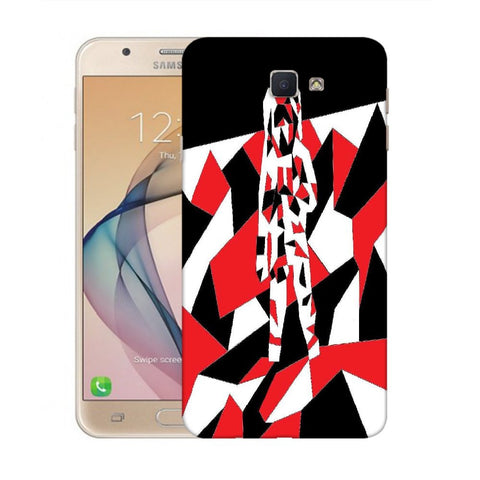 Snoogg Abstract Man Designer Protective Back Case Cover For Samsung Galaxy On Nxt / J7 Prime