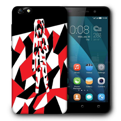 Snoogg Abstract Man Designer Protective Back Case Cover For Huawei Honor 4X