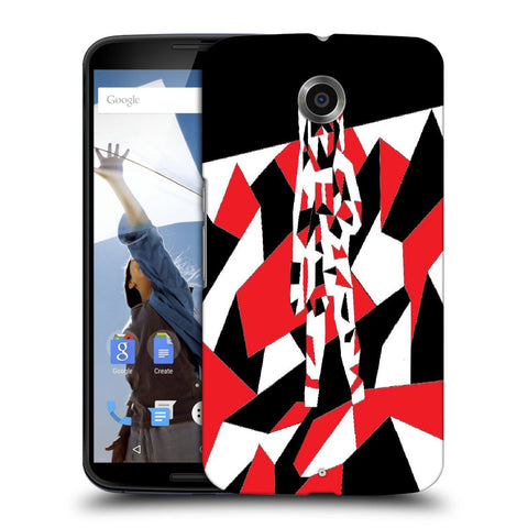 Snoogg Abstract Man Designer Protective Back Case Cover For Motorola Nexus 6