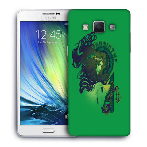 Snoogg Absinthe Girl Designer Protective Back Case Cover For Samsung Galaxy A7