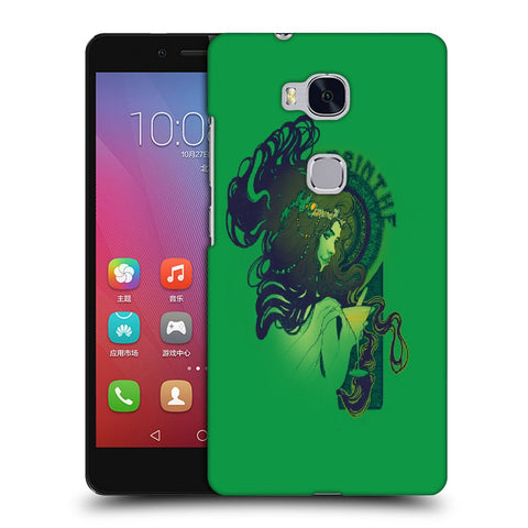 Snoogg Absinthe Girl Designer Protective Back Case Cover For Huawei Honor 5X