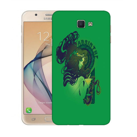 Snoogg Absinthe Girl Designer Protective Back Case Cover For Samsung Galaxy On Nxt / J7 Prime