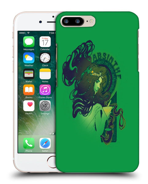 Snoogg Absinthe Girl Designer Protective Back Case Cover For Apple Iphone 7 Plus