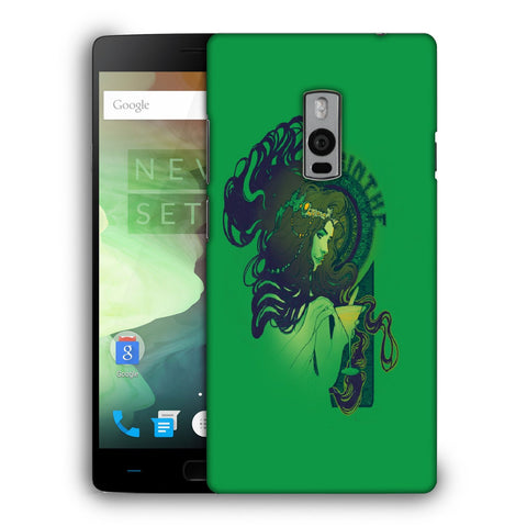 Snoogg Absinthe Girl Designer Protective Back Case Cover For OnePlus Two