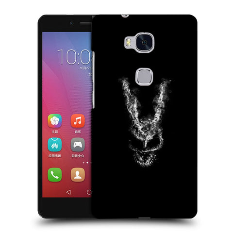 Snoogg Abstract Face Designer Protective Back Case Cover For Huawei Honor 5X