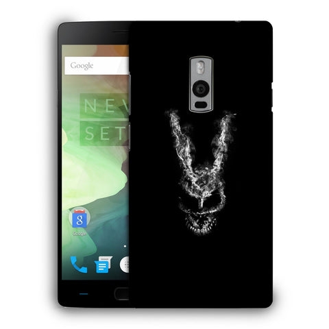Snoogg Abstract Face Designer Protective Back Case Cover For OnePlus Two