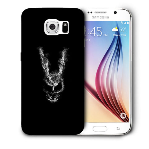 Snoogg Abstract Face Designer Protective Back Case Cover For Samsung Galaxy S6