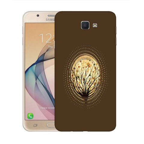 Snoogg Abstract Small Plant Designer Protective Back Case Cover For Samsung Galaxy On Nxt / J7 Prime
