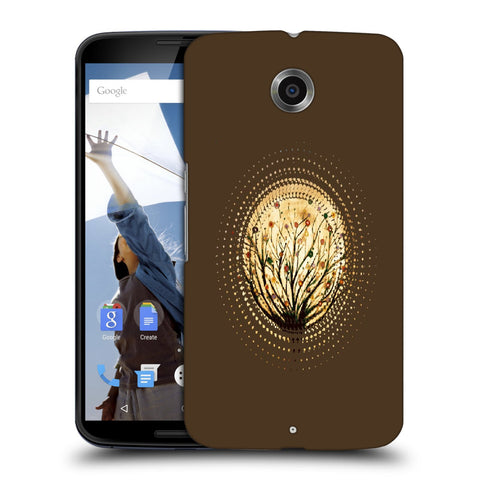 Snoogg Abstract Small Plant Designer Protective Back Case Cover For Motorola Nexus 6