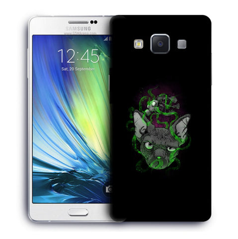 Snoogg Abstract Smelling Mouse Designer Protective Back Case Cover For Samsung Galaxy A7