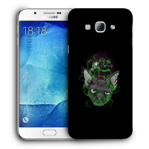 Snoogg Abstract Smelling Mouse Designer Protective Back Case Cover For Samsung Galaxy A8