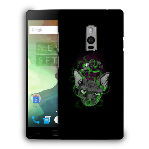 Snoogg Abstract Smelling Mouse Designer Protective Back Case Cover For OnePlus Two