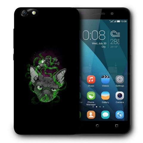 Snoogg Abstract Smelling Mouse Designer Protective Back Case Cover For Huawei Honor 4X