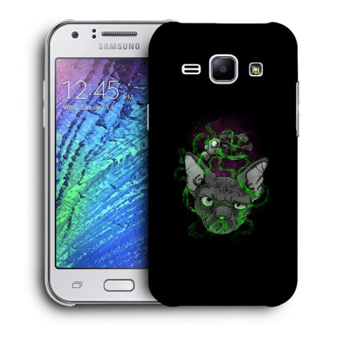Snoogg Abstract Smelling Mouse Designer Protective Back Case Cover For Samsung Galaxy J1