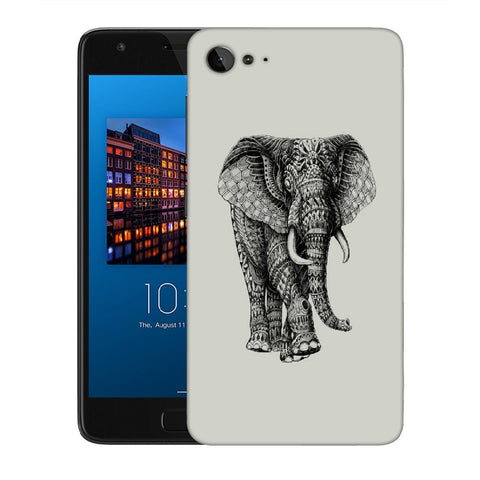 Snoogg Abstract Elephant Designer Protective Back Case Cover For Lenovo Zuk Z2