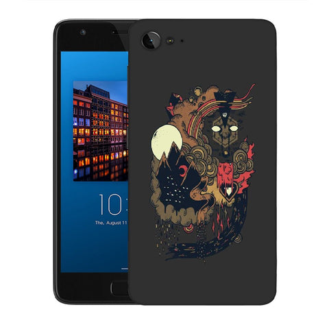 Snoogg Abstract Image Designer Protective Back Case Cover For Lenovo Zuk Z2