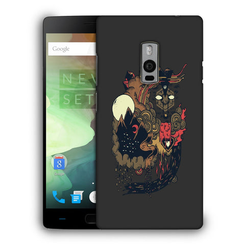 Snoogg Abstract Image Designer Protective Back Case Cover For OnePlus Two