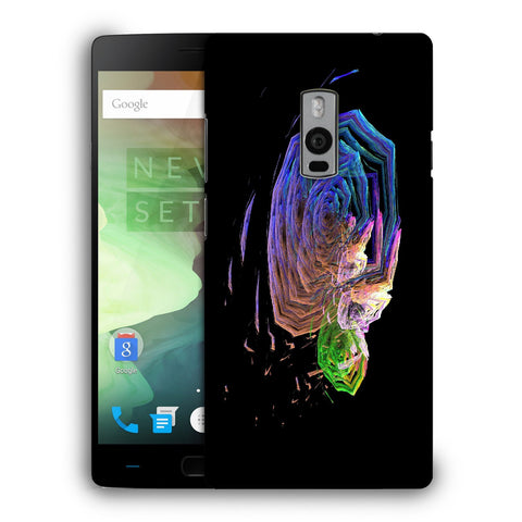 Snoogg Abstract Roses Designer Protective Back Case Cover For OnePlus Two