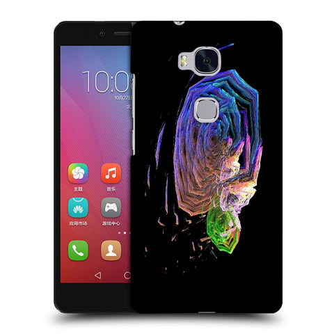 Snoogg Abstract Roses Designer Protective Back Case Cover For Huawei Honor 5X
