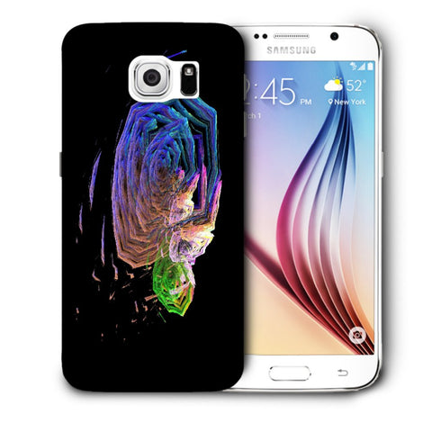 Snoogg Abstract Roses Designer Protective Back Case Cover For Samsung Galaxy S6