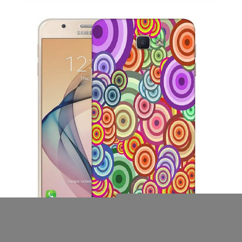 Snoogg Abstract Colorful Bubbles Designer Protective Back Case Cover For Samsung Galaxy On Nxt / J7 Prime