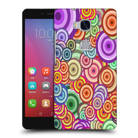 Snoogg Abstract Colorful Bubbles Designer Protective Back Case Cover For Huawei Honor 5X