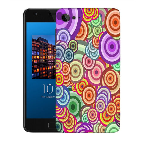 Snoogg Abstract Colorful Bubbles Designer Protective Back Case Cover For Lenovo Zuk Z2