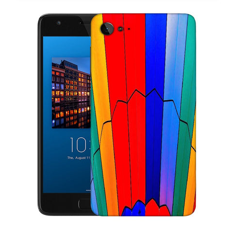 Snoogg Abstract Colors Designer Protective Back Case Cover For Lenovo Zuk Z2
