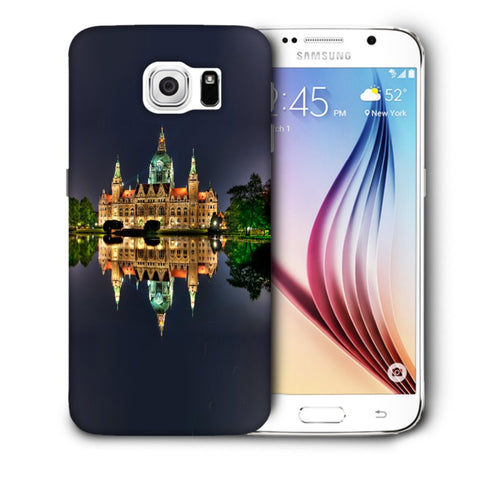 Snoogg Abstract Palace Designer Protective Back Case Cover For Samsung Galaxy S6