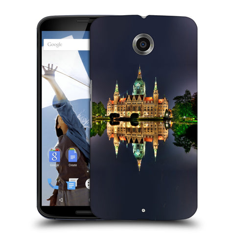 Snoogg Abstract Palace Designer Protective Back Case Cover For Motorola Nexus 6
