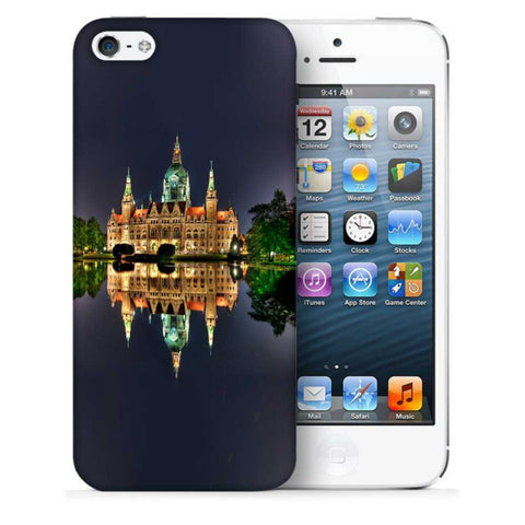 Snoogg Abstract Palace Designer Protective Back Case Cover For Apple Iphone SE