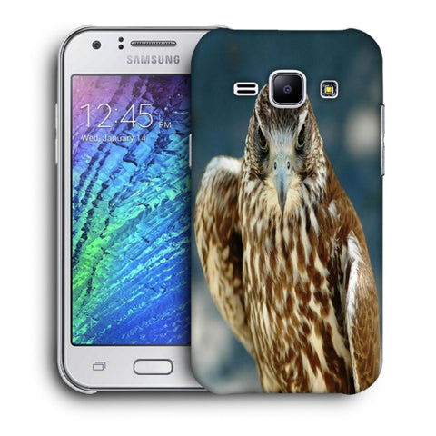 Snoogg Abstract Eagle Designer Protective Back Case Cover For Samsung Galaxy J1