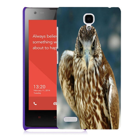 Snoogg Abstract Eagle Designer Protective Back Case Cover For Xiaomi Redmi Note 2